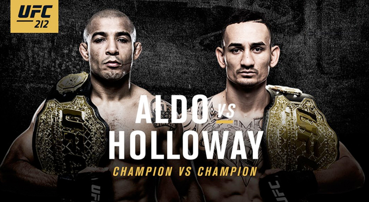 MMA_FeatureZone_UFC212_Josealdo_MaxHolloway_2017_060317