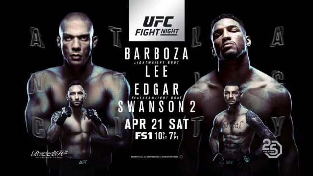 UFC Fight Night 128: Barboza vs. Lee - Full Show 1