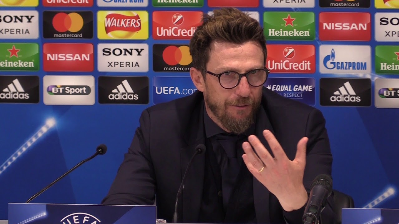 Liverpool vs Roma : Eusebio Di Francesco post-match press conference