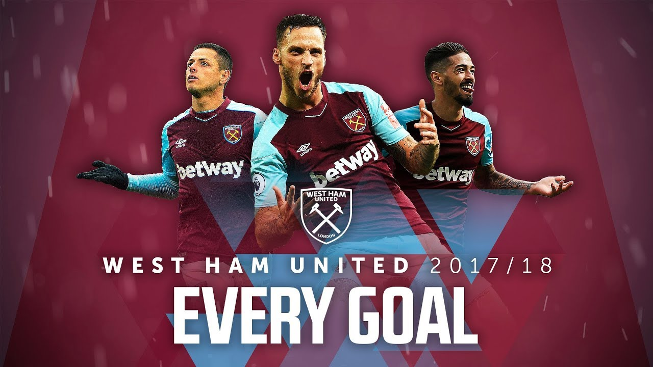 EVERY WEST HAM UNITED GOAL | 2017/18 1