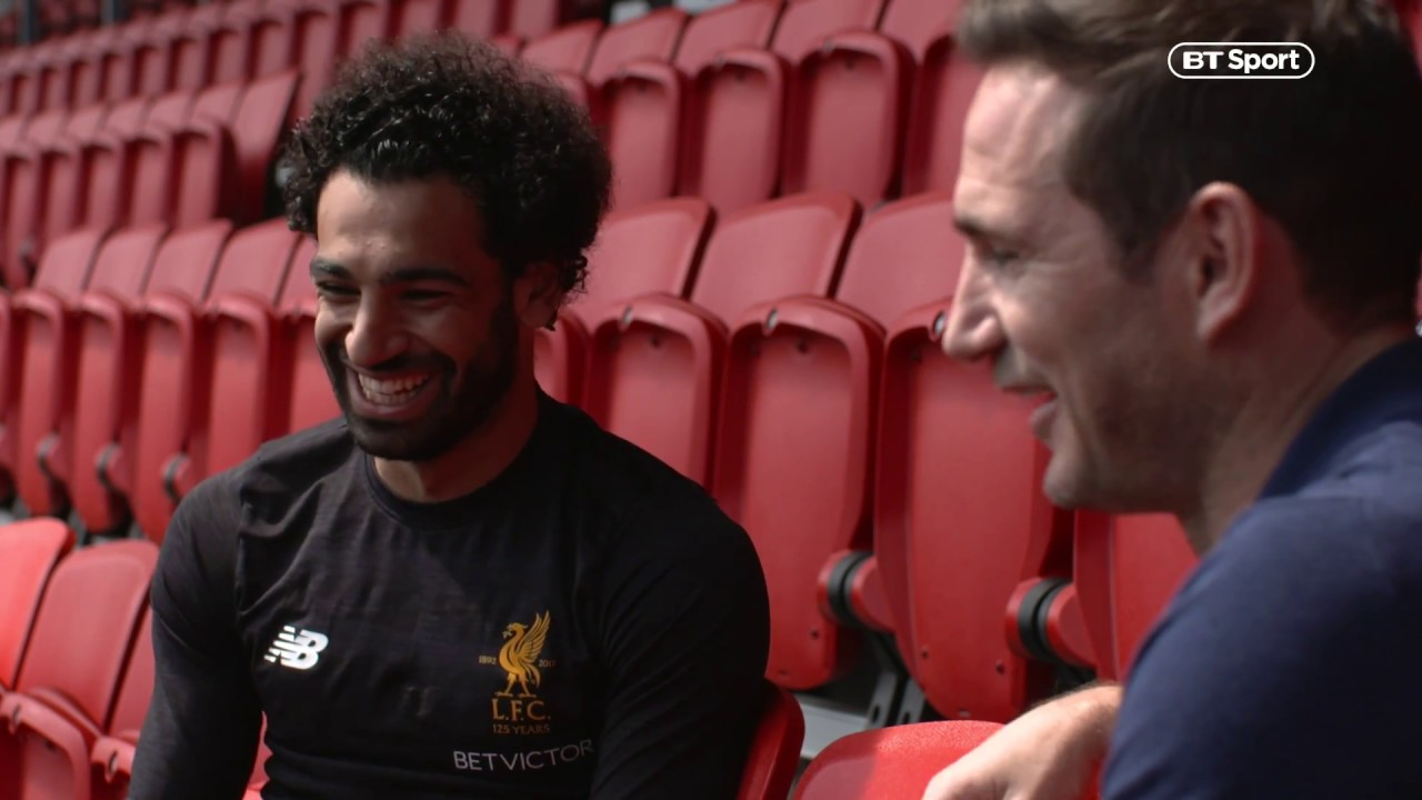 """""""I came back to England to prove myself!"""" Frank Lampard gets a look inside the mind of Mohamed Salah"""