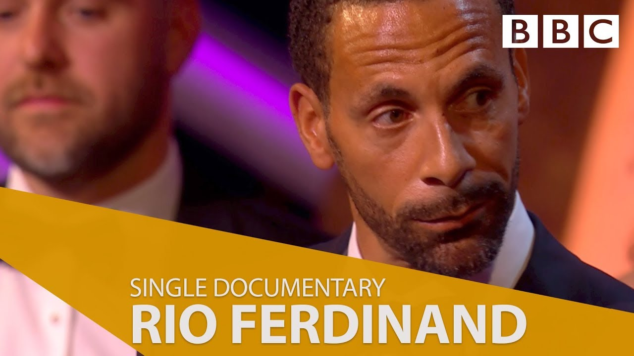 Rio Ferdinand's BAFTA acceptance speech | Being Mum and Dad wins Best Single Documentary