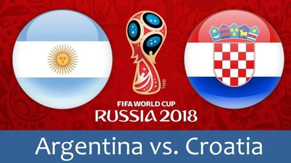 Argentina v Croatia – Full Match | World Cup 2018 Russia 1