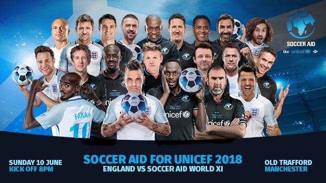 Soccer Aid- Full Match | ITV 1