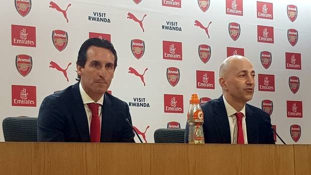 Unai Emery: First press conference as Arsenal manager 1