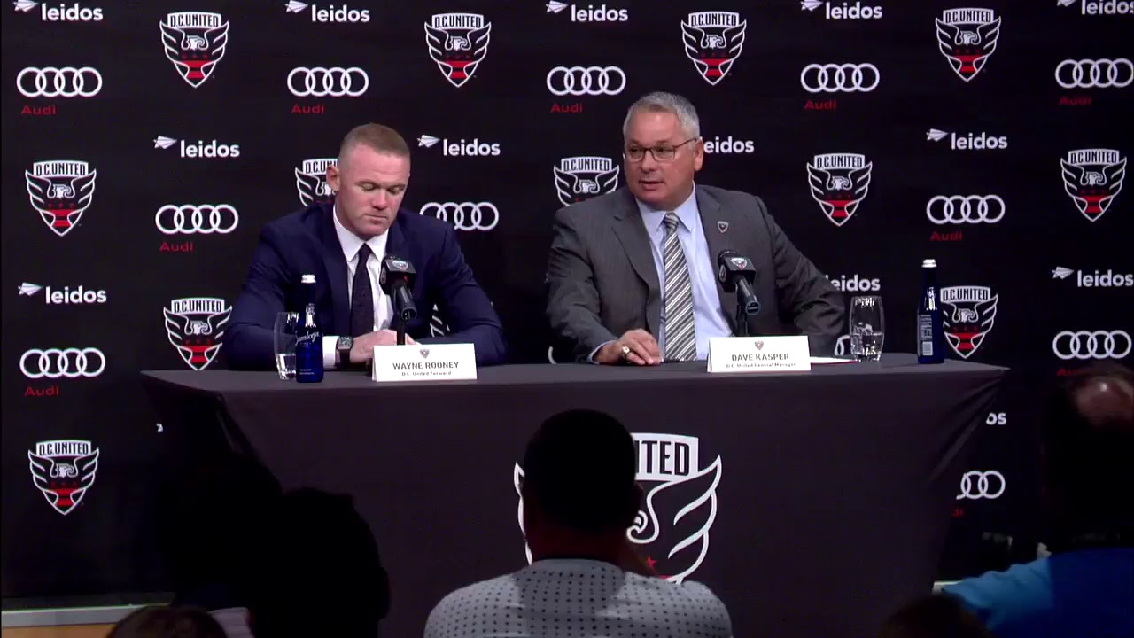 WATCH: Wayne Rooney press conference | DC United