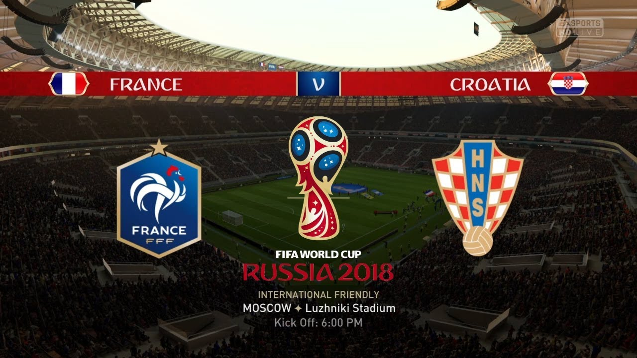 France vs Croatia - Full Match | World Cup 2018 Final | BBC 1