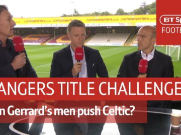 Can Rangers challenge Celtic for the title? Scottish football debate