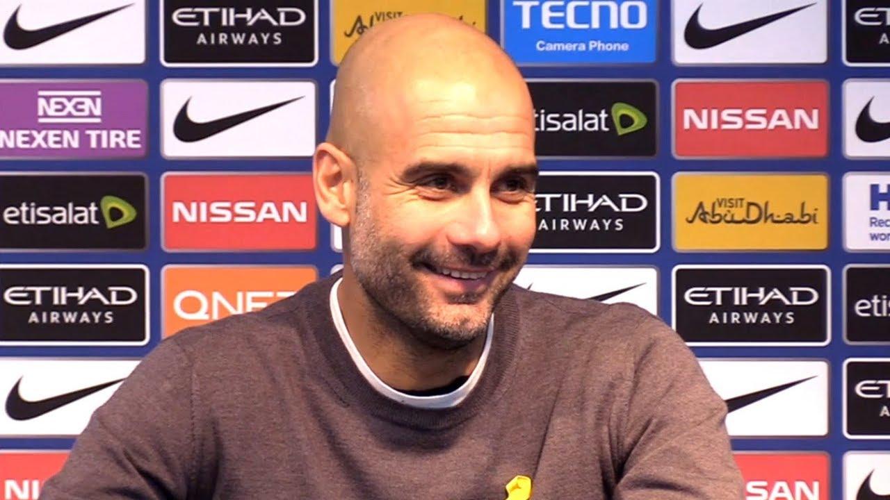 Arsenal vs Man City: Pep Guardiola press conference 1