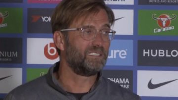 Jurgen Klopp post match press conference | Chelsea vs Liverpool