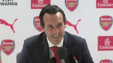 Unai Emery post match press conference   Arsenal vs Watford