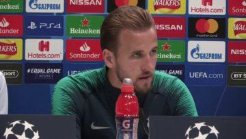 Harry Kane Pre Match Press Conference – Tottenham vs Barcelona   Champions League