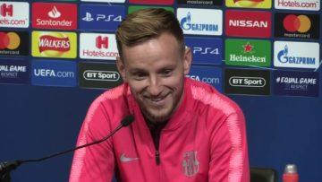 Ivan Rakitic Pre Match Press Conference – Tottenham vs Barcelona   Champions League