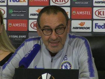 Maurizio Sarri Pre-match Press Conference – Chelsea vs Videoton | Europa League