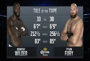 Boxing Deontay Wilder vs Tyson Fury Full Fight