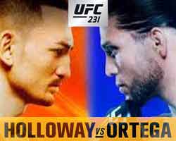 holloway-ortega-fight-ufc-231-poster