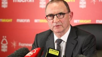 Martin O'Neill focused on getting Nottingham Forest in the Premier League