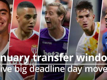 football, soccer, deadline day, transfer, newcastle, arsenal, burnley, crouch, almiron, bacuna, denis suarez