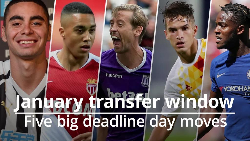 Deadline day moves: Batshuayi seals Crystal Palace loan 1