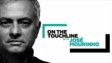 On the Touchline with José Mourinho