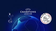 Tottenham Hotspur v Ajax UEFA Champions League semi-final 1st leg 30 April 2019