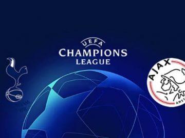 Tottenham Hotspur v Ajax UEFA Champions League semi-final 1st leg 30 April 2019