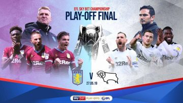 Aston Villa, Championship, play-off, final, football, soccer, sport, Derby, Sports News Highlights