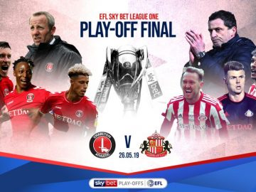 Charlton Athletic , Sunderland ,Full Match , League One ,play-off final