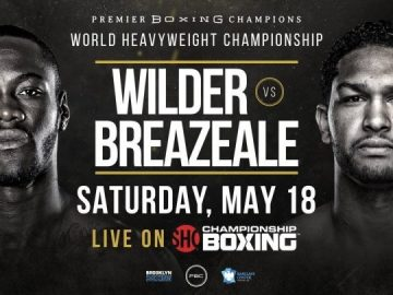 Deontay Wilder , Dominic Breazeale, Full Fight Replay, Boxing
