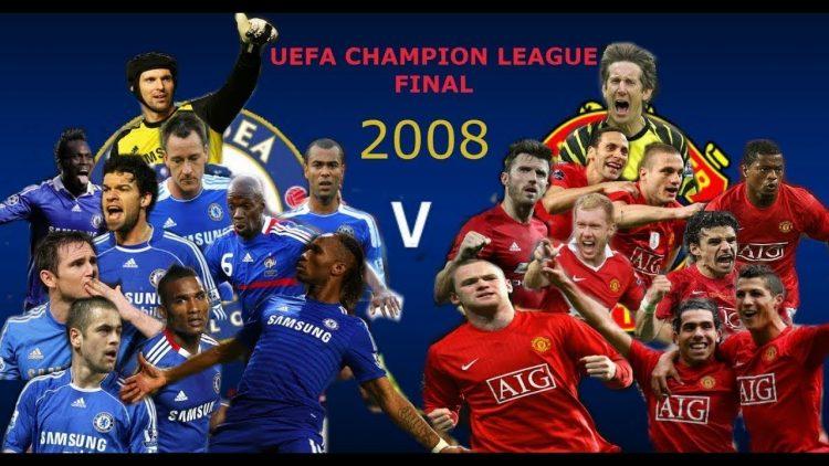 Manchester United V Chelsea Highlights 2008 Uefa Champions League Final Footballorgin