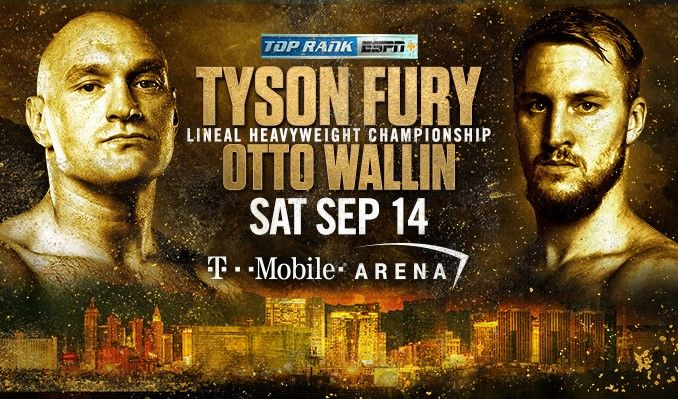 Tyson Fury vs Otto Wallin Full Fight Replay - Boxing | 14 September 2019 1