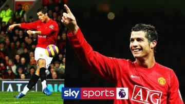 Ronaldo's best Man Utd PL goals